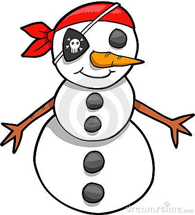 piraat-sneeuwpop